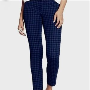 Old Navy Pixie houndstooth blue black New size 4